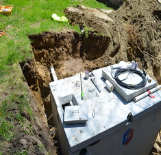 Septic Tank System Installation in Norway Maine