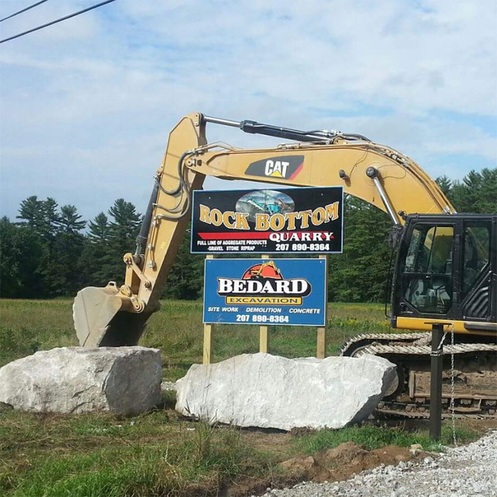 Excavation Services include Site Work, Demo, & Concrete in South Paris and Oxford, Maine